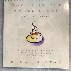 God is in the Small Stuff Bruce and Stan	Paperback